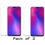 Oppo Realme 2 Pro Screen Protection Temperd glass By MB Star (Pack 2)