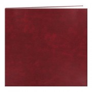 "Pioneer Leatherette Post Bound Album 12""X12""-Burgundy"