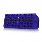 Wireless Bluetooth Speaker HiFi 3D Stereo Portable Sound Box Mic Hands Free AUX TF Supported - Purple
