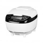 Мултикукър Diplomat MCKFP50W, 860W, 5 литра, 9 програми, LED дисплей, Таймер, бял