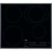 GARANTIE 2 ANI Plita cu inductie AEG, 4 zone, control touch prin culisare, negru IKB64413FB