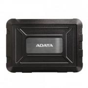SSD/HDD Enclosure Adata ED600, 2.5, USB 3.1, Rezistent la apa, Rezistent la praf, Rezistent la socuri, Negru
