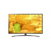 "LG 55UM7400PLB LED TV 55"" Ultra HD WebOS ThinQ AI Iron Gray Crescent pole stand"