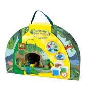 Ses Creative - Children's Jurassic Dino World Play Suitcase (mult