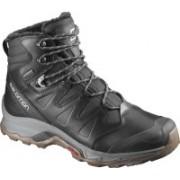 Salomon QUEST WINTER GTX® Waterproof Hiking & Trekking Shoes For Men(Black)