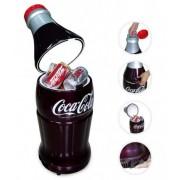 Malá lednička v láhvi od nápoje - 10L / 15 plechovek