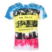 Herren T-Shirt Metal Police - SYNCHRONICITY - LIQUID BLUE - 11930