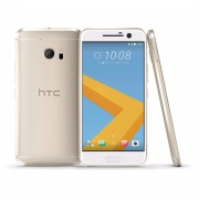 Смартфон HTC 10 Topaz Gold /5.2 Quad HD (2560 x 1440), super LCD 5/ Qualcomm Snapdragon 820 (Dual-core 2x2.2 GHz Kryo Dual-core 2x1.6 GHz Kryo)/Memory 32GB/4GB/Cam. Front 5 MP (1.34MICROm pixels)/Main 12 MP (HTC UltraPixel 2)/NFC, BT 4.2, 802.11 a/b