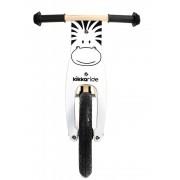 Bicicleta din lemn fara pedale Balance Bike Pino Zebra