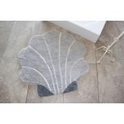 Covoras Shell Grey 90 cm