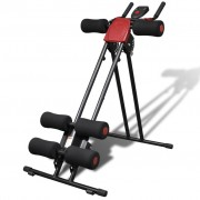vidaXL High Quality Foldable Core and Ab Trainer with Display