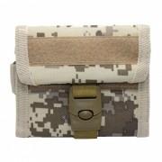 600D Nylon Tactical Wallet tarjeta clave de colgar el bolso