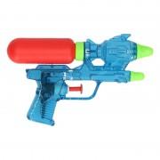 Geen Goedkope waterpistolen blauw 18 cm