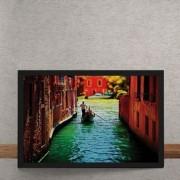 Quadro Decorativo Canais de Veneza 25x35