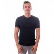 Claesens T-Shirt Round Neck Blue Stretch Two Pack ( CL 1021) - Blauw - Size: Large