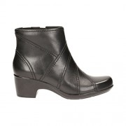 Clarks Women's Malia Marny Black Boots - 6 UK/India (39.5 EU)