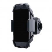 Interphone - Samsung Galaxy A6 Plus (2018) Motorhouder Moto Crab Zwart