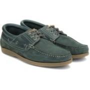 Woodland Boat Shoes For Men(Grey)