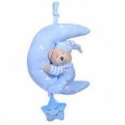 Jucarie agatatoare bebe plus muzica ursulet bleu
