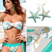V&V Dámské dvoudílné plavky Ocean Star (S) - V&V