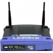 Router Linksys Wireless G Broadband with 4 port Linux WRT54GL