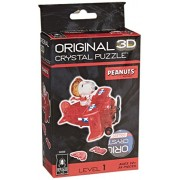 BePuzzled Snoopy Flying Ace Crystal Puzzle