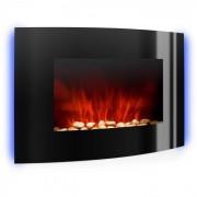 Klarstein Lausanne chimenea electrica estufa electrica decorativa 2000 W negro (FP1-LAUSANNE)