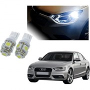 Auto Addict Car T10 5 SMD Headlight LED Bulb for Headlights Parking Light Number Plate Light Indicator Light For Audi A4