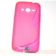 Husa Silicon Gel Samsung Galaxy Core 4G G386F LTE S-Line Roz