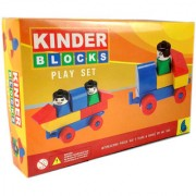 Peacock Kinder Blocks Play Set