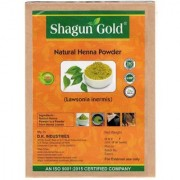 Shagun Gold Natural Henna Powder (lawsonia Inermis ) 200g x 2
