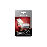 Micro SDHC card + Adapter (32GB class 10) Samsung Evo Plus Speed read 95 MB/s
