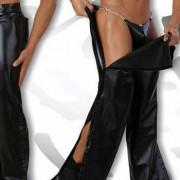 Eros Veneziani Trousers Strip Pants PVC 6759