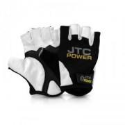 JTC POWER Lifting Gloves, black/white, small