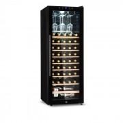 Barossa 54D Garrafeiro de vinhos 2 Divisórias 148 L 54 Garrafas Porta de vidro Touch