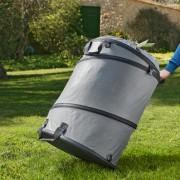 Videx Pop-Up Gartenabfall-Tasche, 150 l