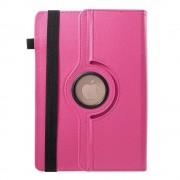 Javu - HP Pro Slate 8 Tablet Hoes - Rotatie Cover Lychee Roze