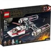 Конструктор Лего Стар Уорс - Y-wing Starfighter на Съпротивата, LEGO Star Wars, 75249