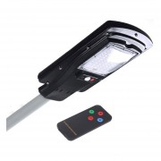 Foco Led Solar Poste Luminaria Con Sensor 30W
