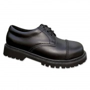 Brandit 3 Eyelet Schuhe Schwarz 40