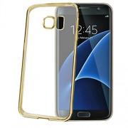 Husa Capac Spate Bumper Auriu Samsung Galaxy S7 Edge Celly