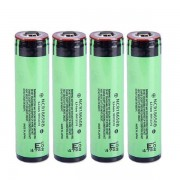 Meco 4PCS NCR18650B 3.7V 3400mAh Protected Rechargeable Lithium Battery