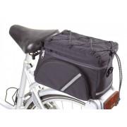 Westfalia Fahrrad Gepäckträgertasche - multifunktionell, schwarz