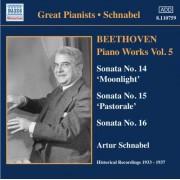 L Van Beethoven - Piano Works Vol.5 (0636943175927) (1 CD)