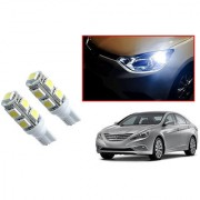 Auto Addict Car T10 9 SMD Headlight LED Bulb for Headlights Parking Light Number Plate Light Indicator Light For Hyundai Sonata