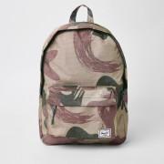 Herschel Mens Herschel Green Classic camo backpack (One Size)