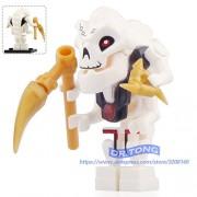 Generic Legoingly Ninja Figures Calaberas Samukai Lloyd GARMADON with Four Hands Gold Weapons Action Toy Building Blocks Brick Toys A089 A089