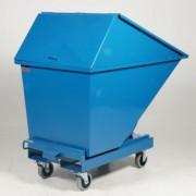 Rolléco Chariot benne auto-basculante 2200 litres 2200 litres avec couvercle
