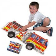 Детски пъзел за земя - пожарна, 10436 Melissa&Doug, 000772104364