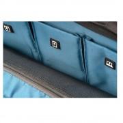 4smarts Cambridge Multimedia Bag - качествена чанта с презрамка за таблети и преносими компютри до 13.3 инча (тъмносив)